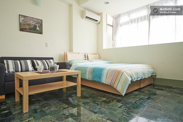 Spacious clean room with cable TV