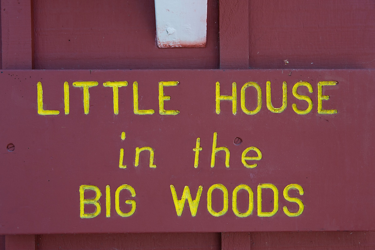 """""""Little House in the Big Woods"""""""