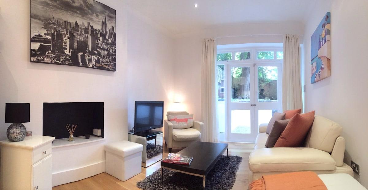 Luxury garden flat by Notting Hill