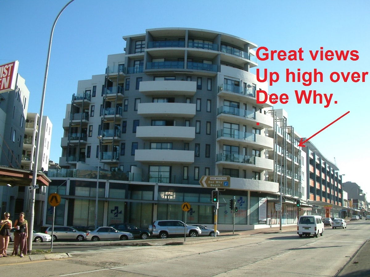 This Impressive level 4 Dee Why rental apartment in Dee Why's Premier Apartment blocks.