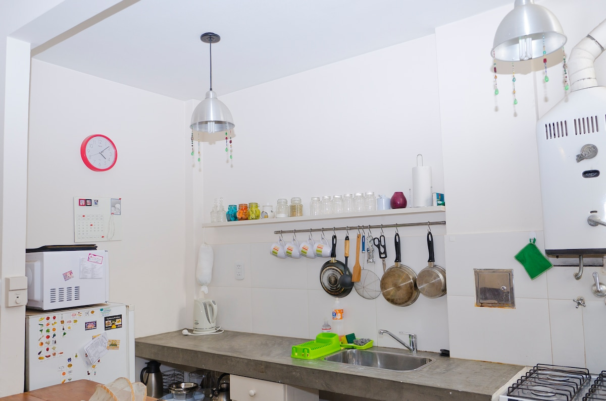 Trendy apartment in San Telmo.