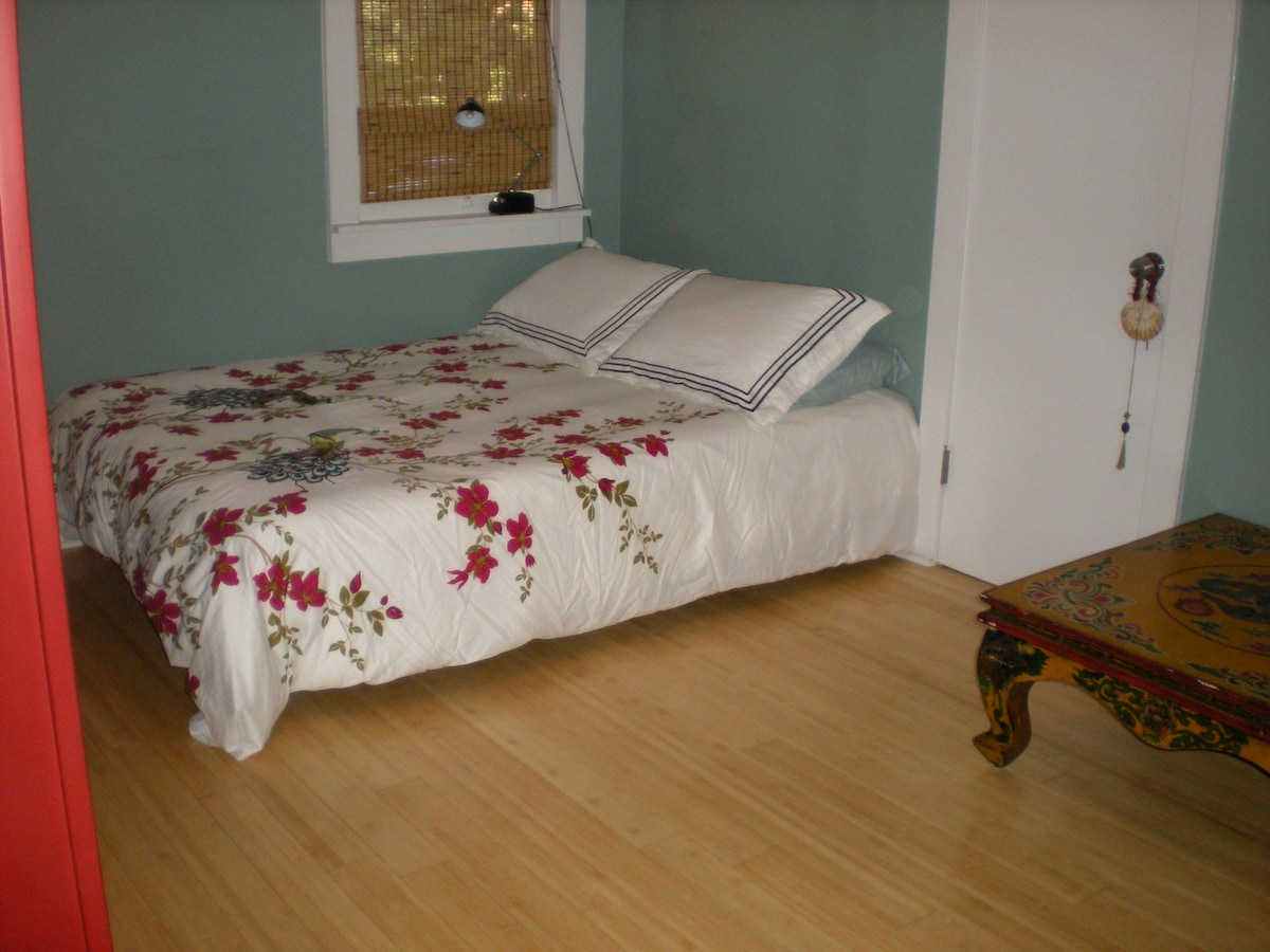 "Our Chinese bed is outfitted with a 6"" orthopedic memory foam mattress.  It has received great reviews from our visitors."