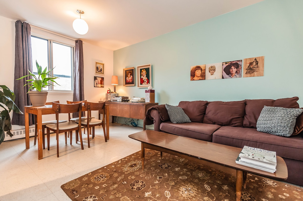 Charming apartment in St-Henri