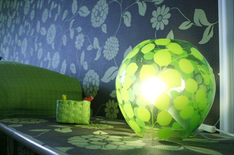 The elegant green room