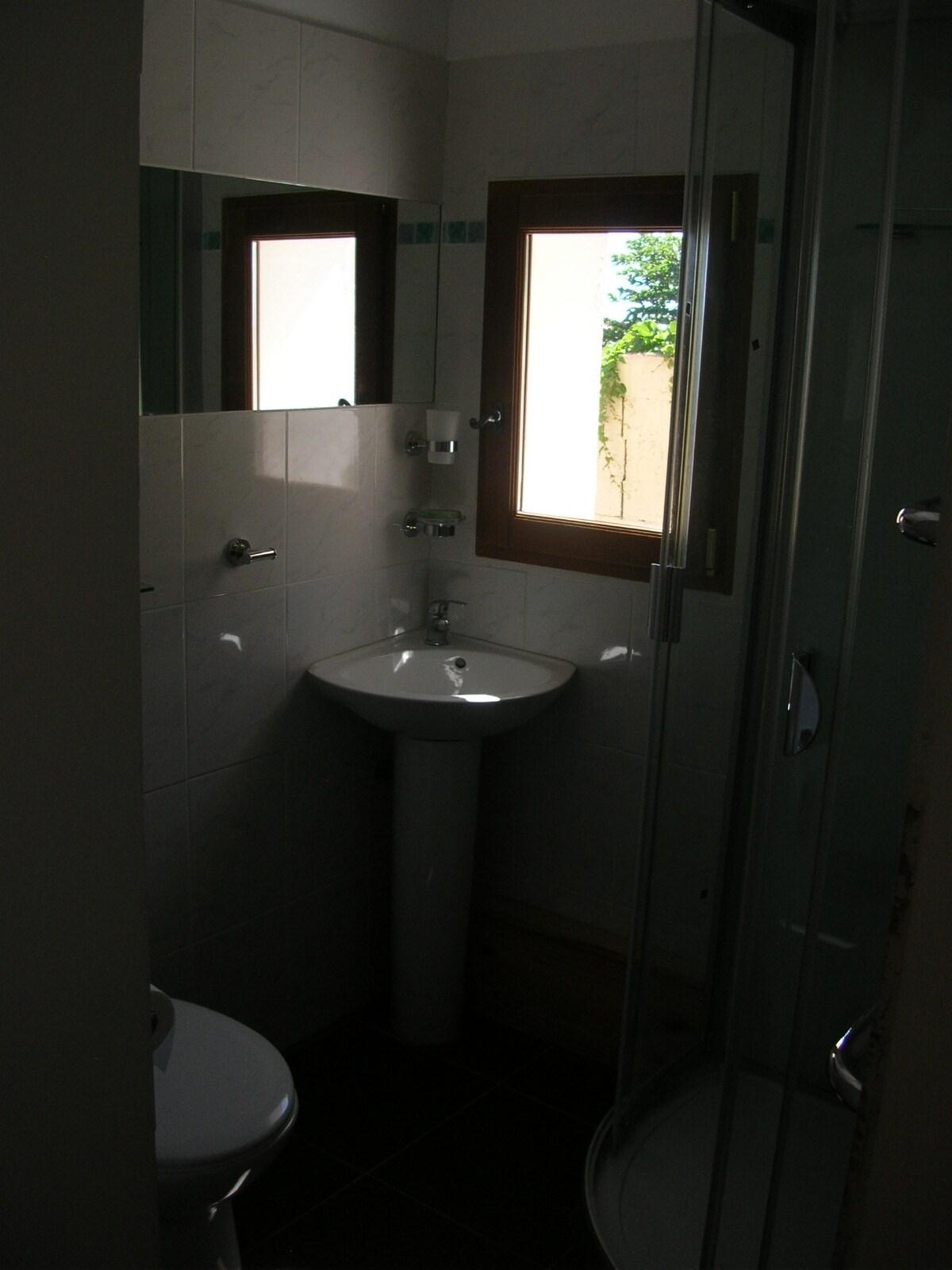 En-suite with tilt and turn window