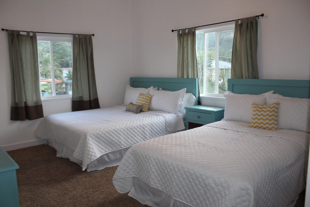 Spacious 2 bedroom close to beach