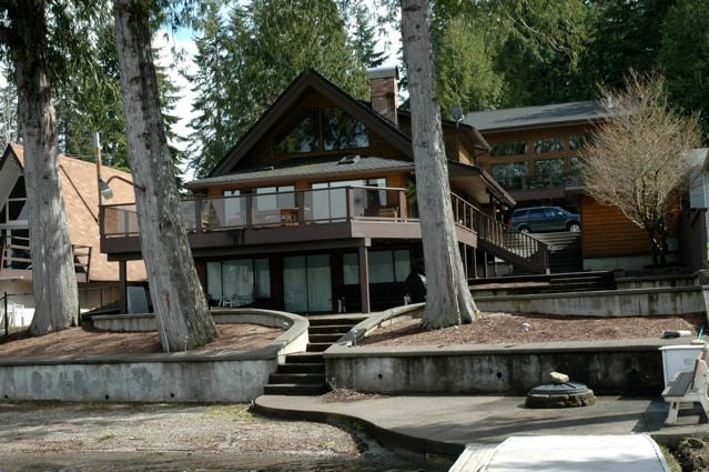 Main House from dock