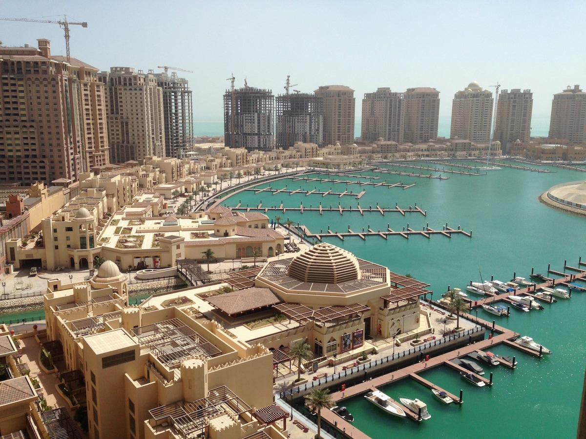BEST LOCATION IN DOHA! PEARL APT.