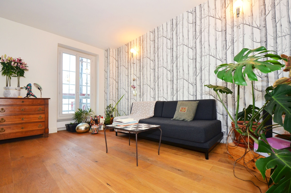 A spacious apartment!