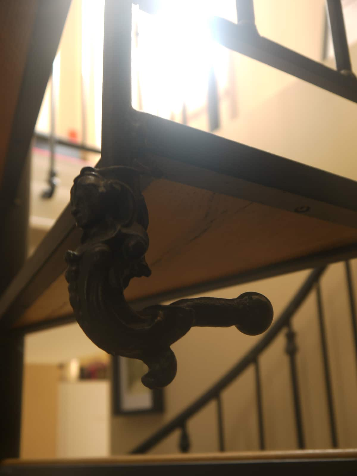 Cast-Iron Stairs