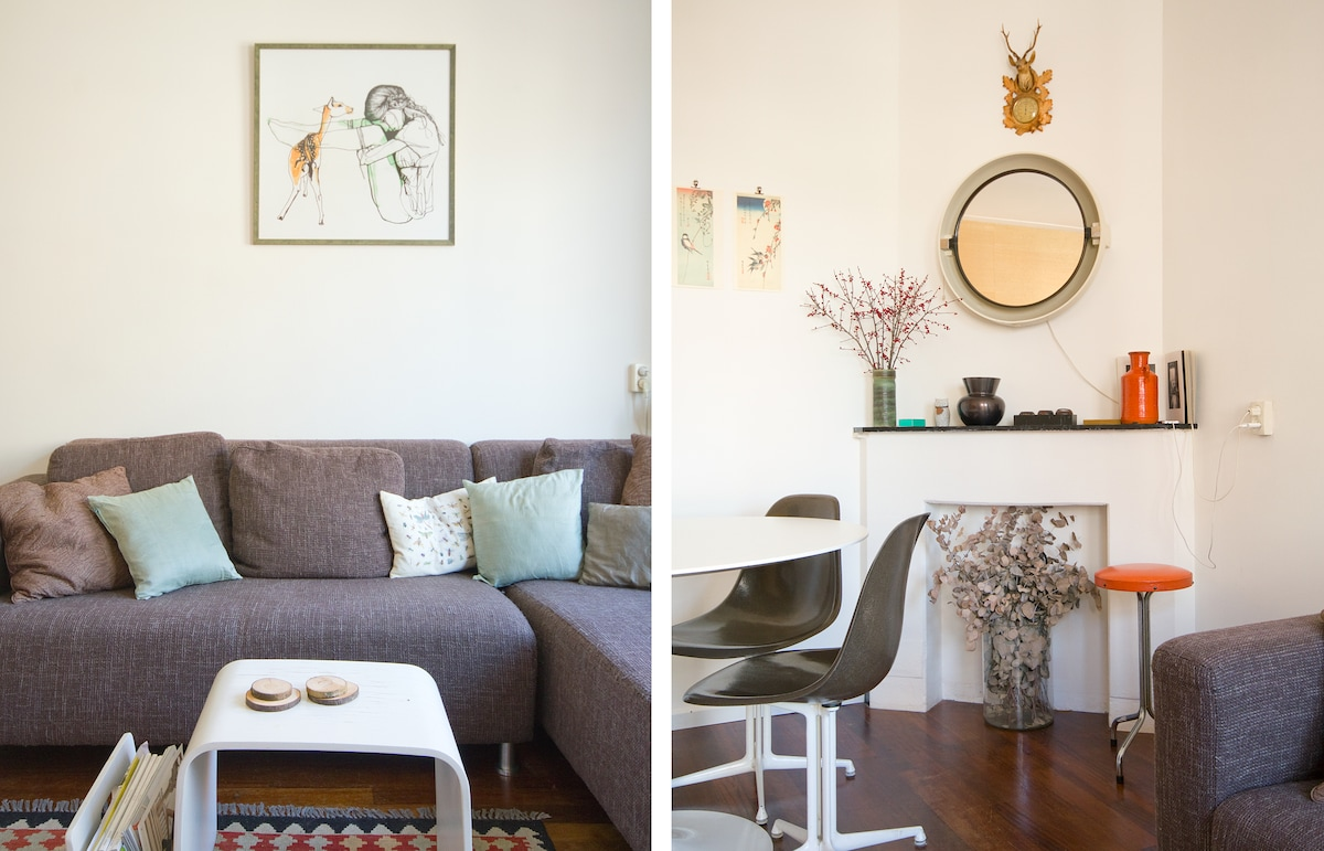 Cosy and stylish flat in Oud-West