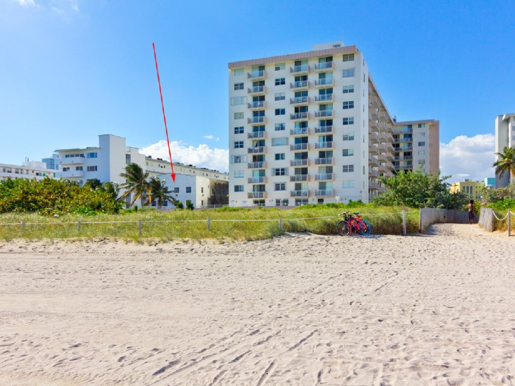 This is your oceanfront building!