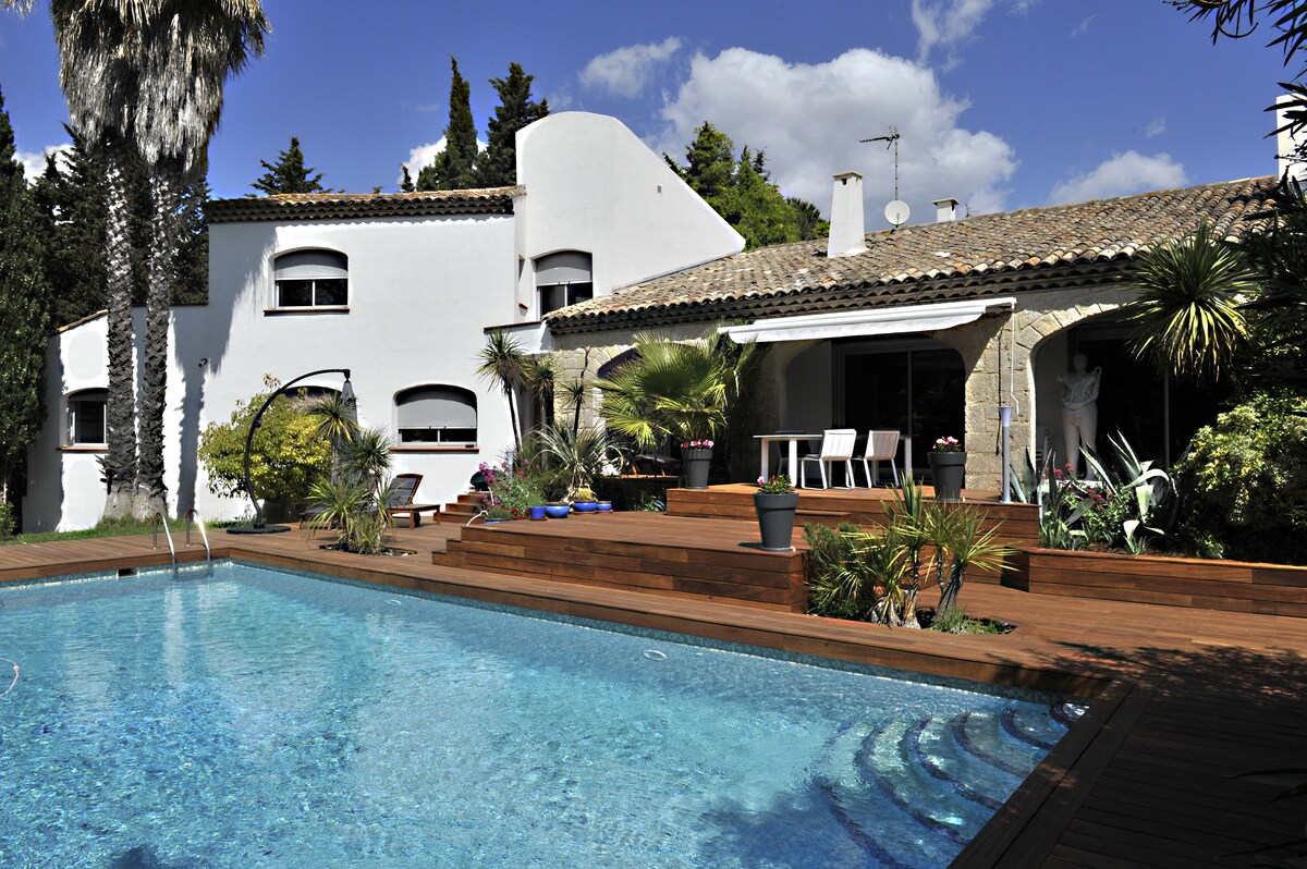 Superbe villa de vacances, piscine