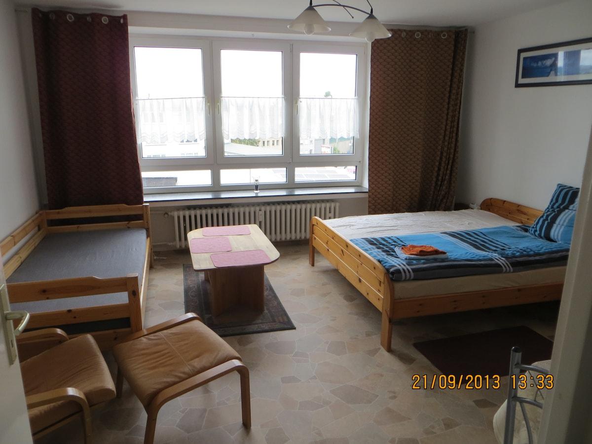 Wohnung Innenstadt 3 ZKB f. 1-6 P.