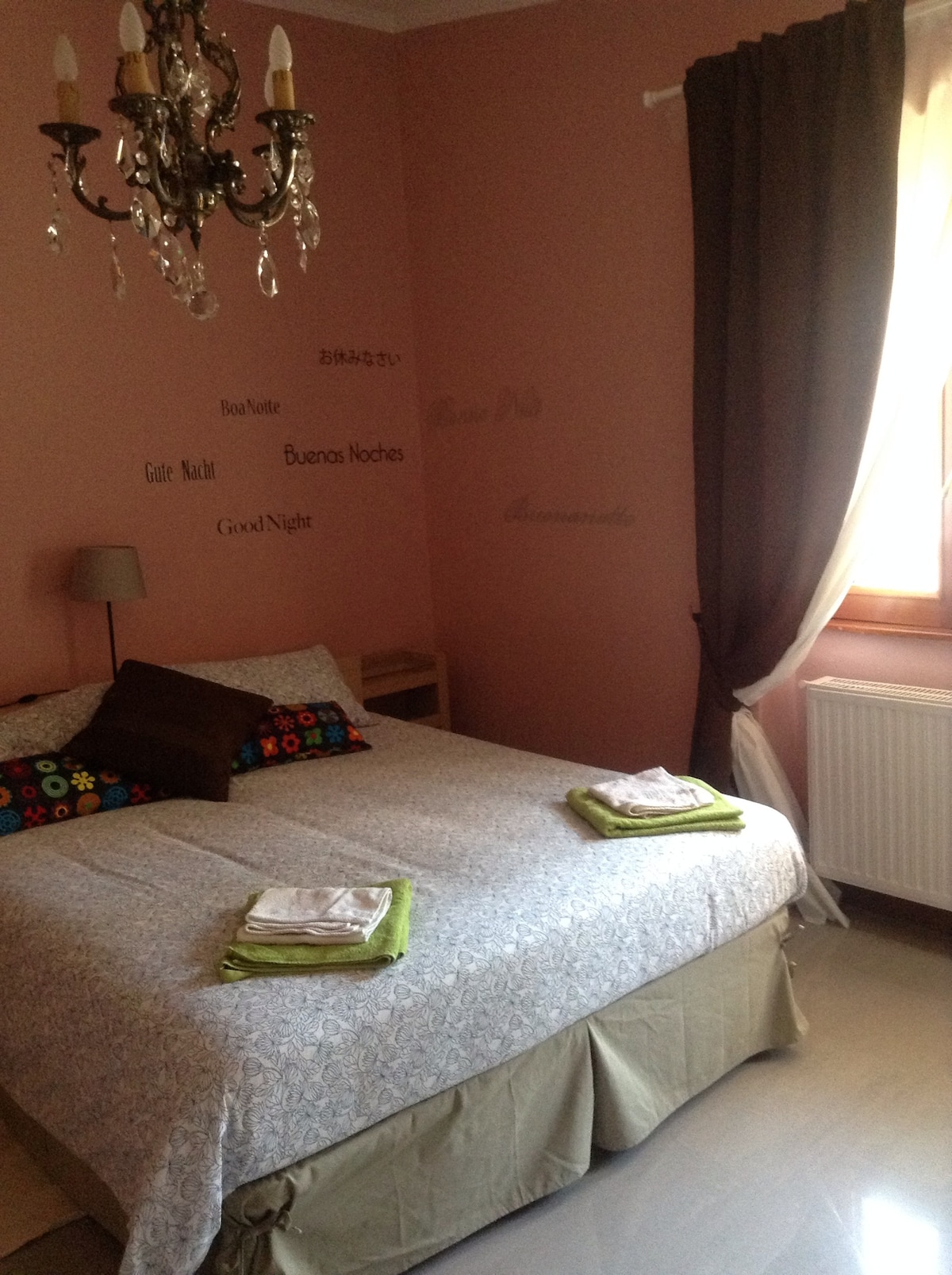 The relax bedroom