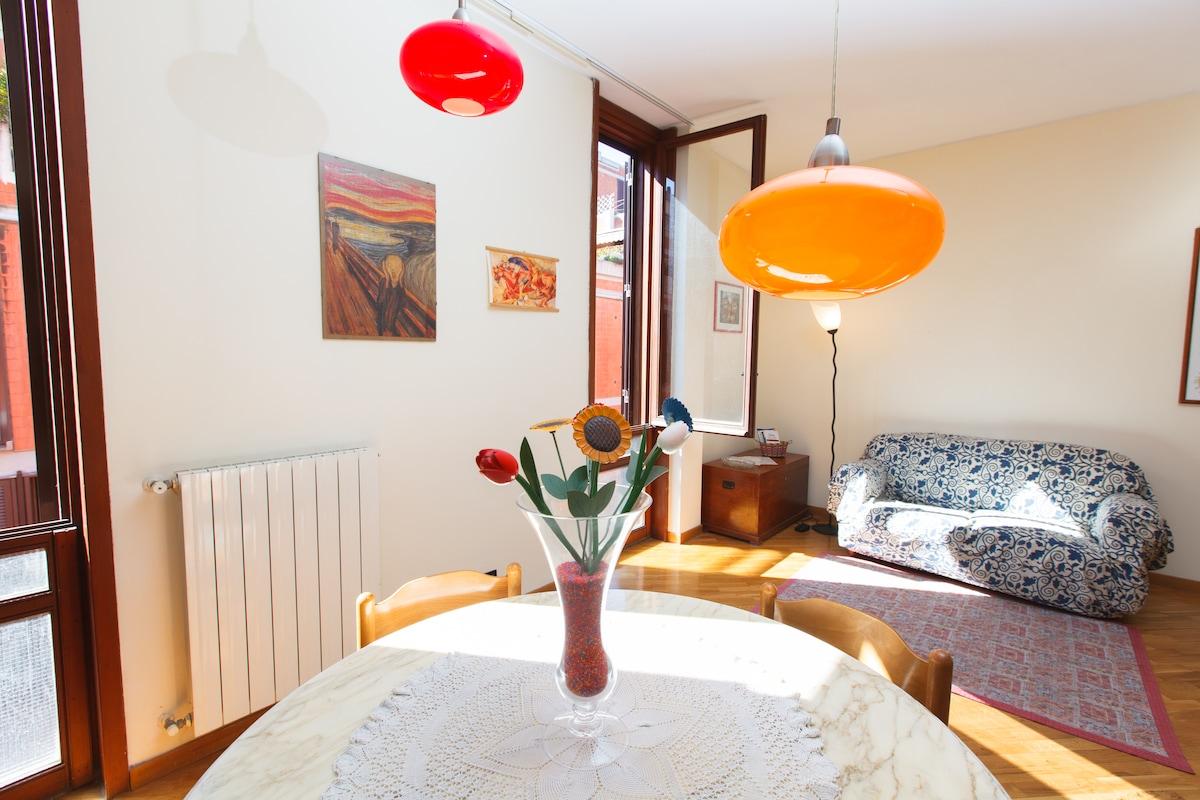 Luminosissimo salone doppio - Bright living-room