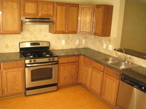 Kitchen.   Now furnished with a microwave, blender, foreman grill, dishwasher, . Ambiance. Fridge.