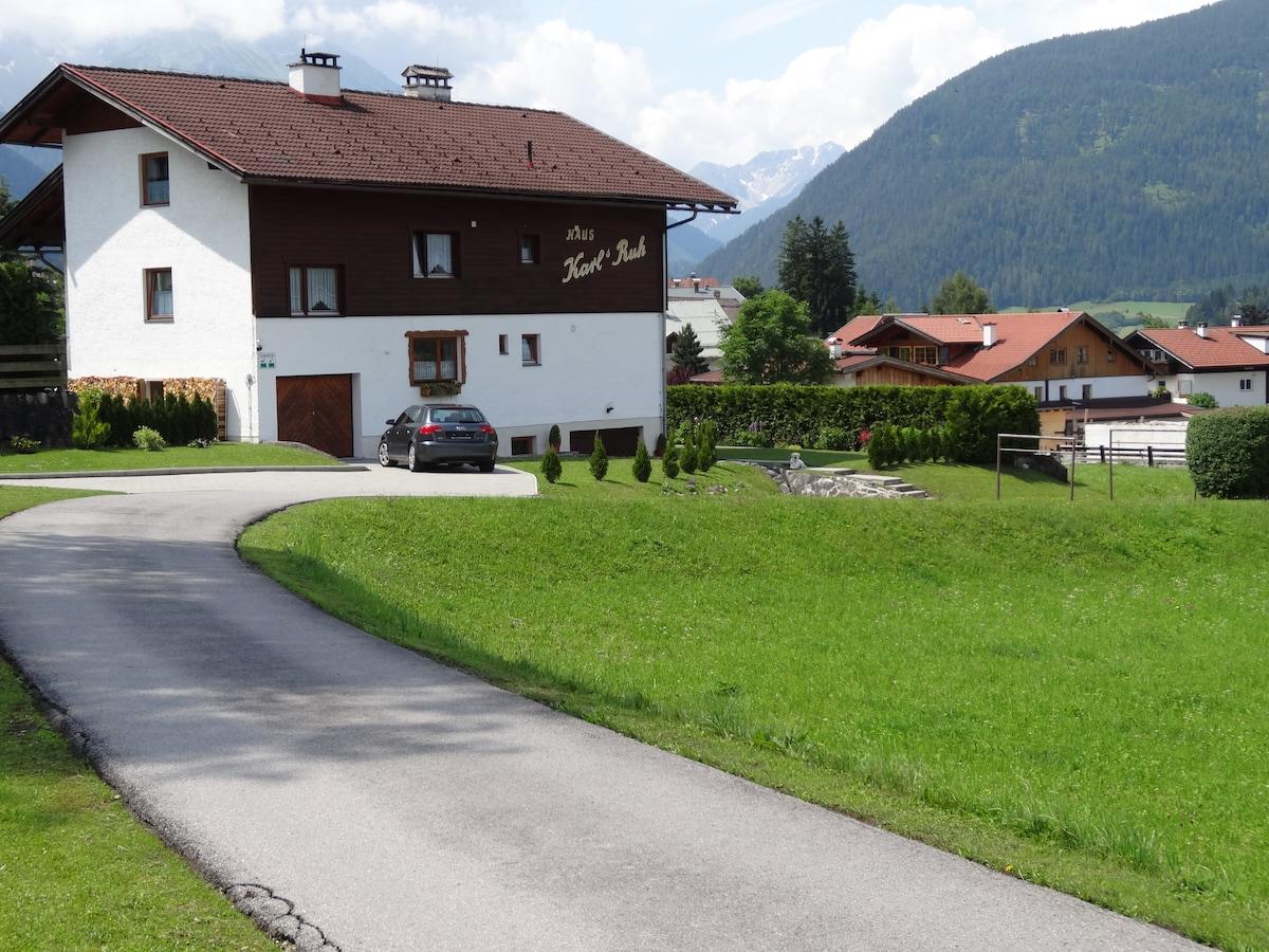 Family run B&B in the Austrian Alps