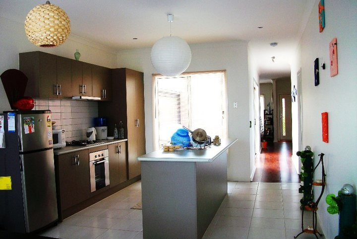 This is the Sunlit Kitchen and Dining. Very roomy, spacious and clean.