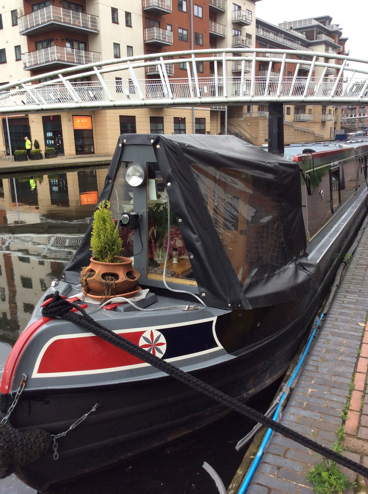 City Centre Narrowboat B&B B.ham.