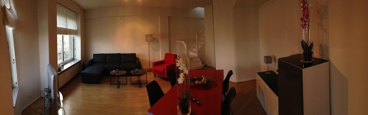 Central Penthouse - 35 m² terrace