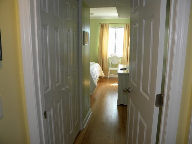 Entrance into the Master Bedroom