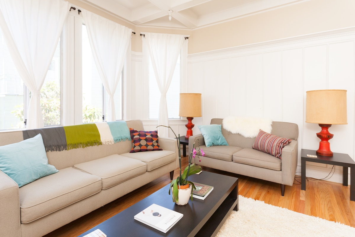 Bright & Modern in Mission-Dolores