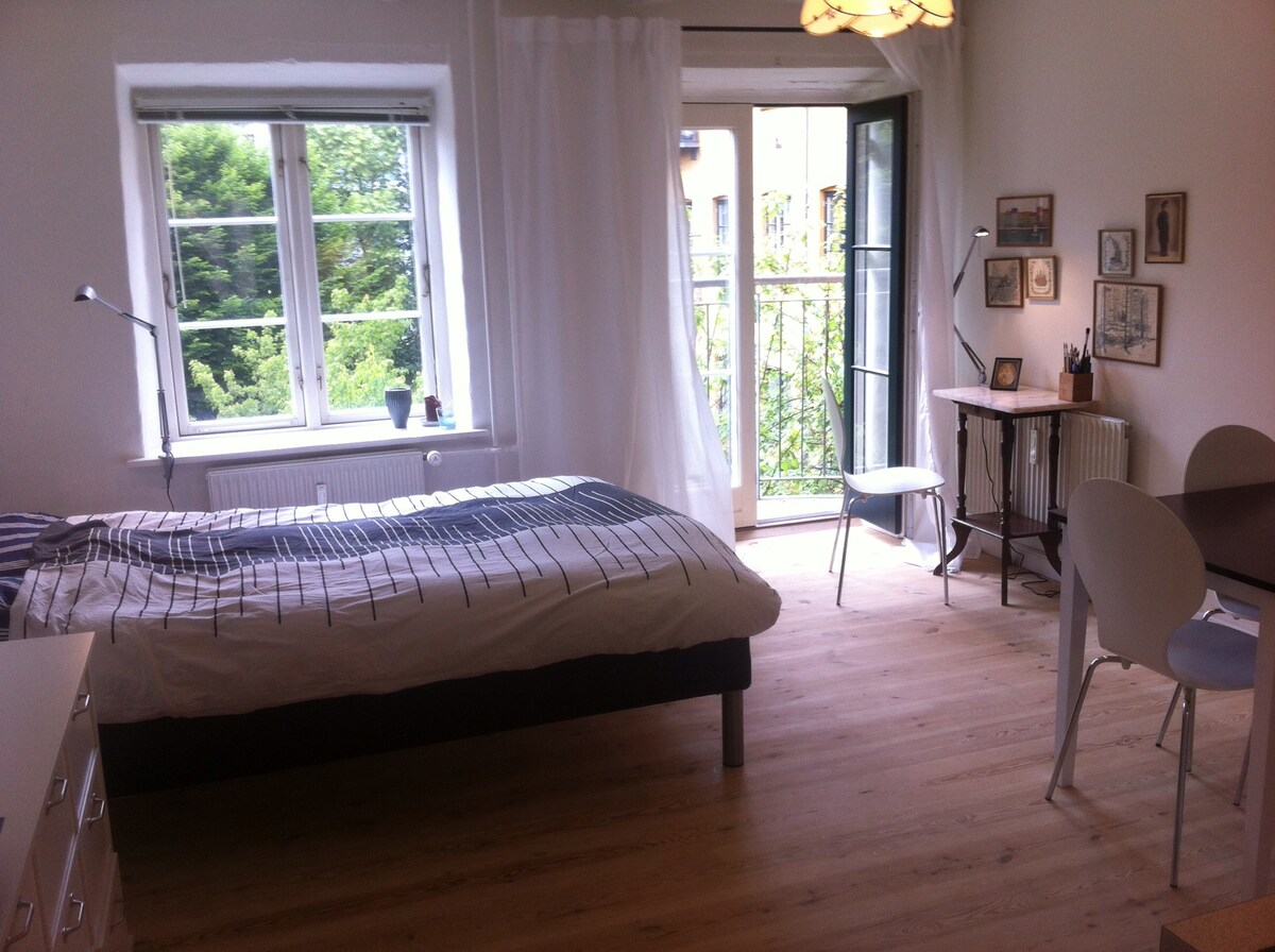 Charming Studio flat: Vesterbro
