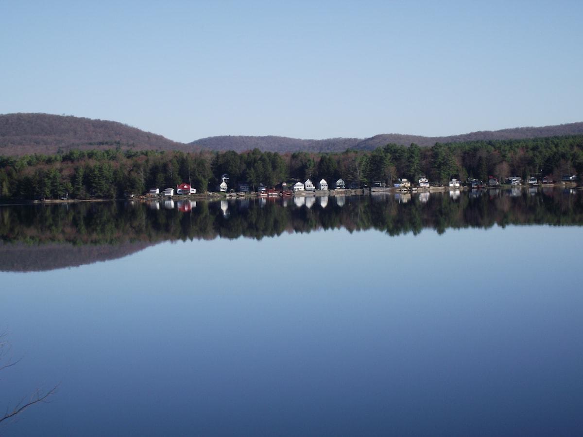 Lake house in the Adirondacks