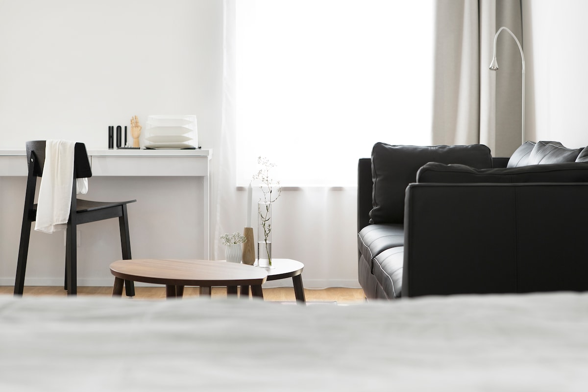 1.New apartment  2 min from station