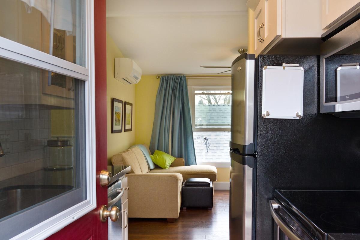 Adorable North End studio apartment