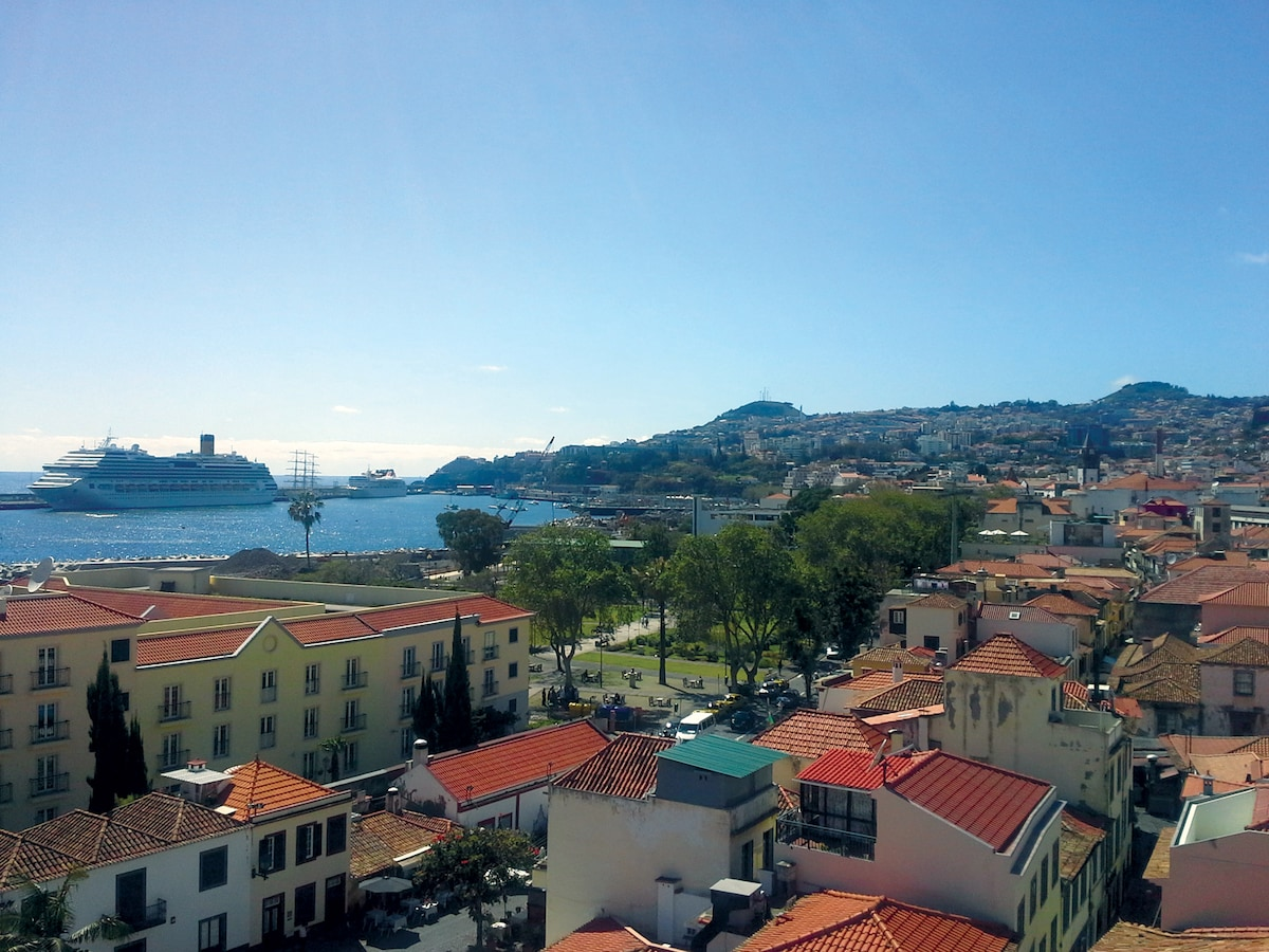 View from the rooftop terrace (West) / Vista do terraço (Oeste)
