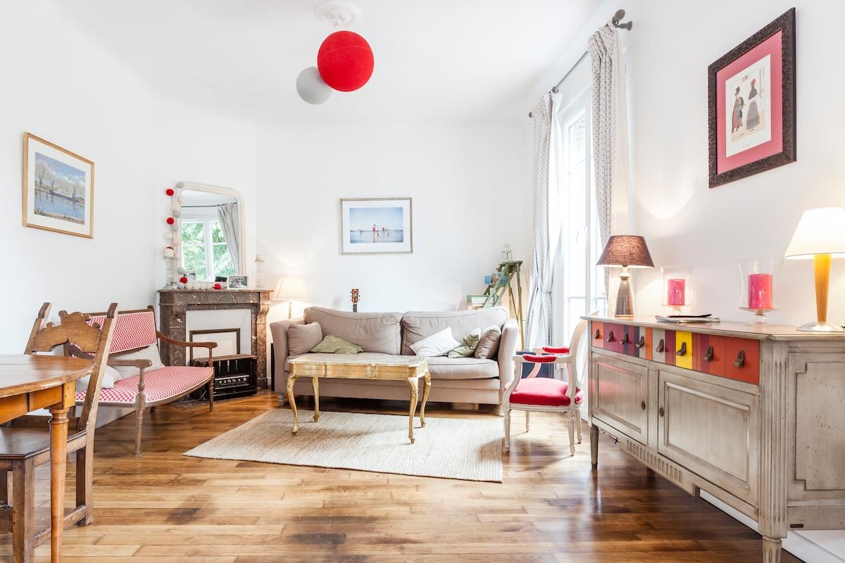 Charming flat (60 m²)