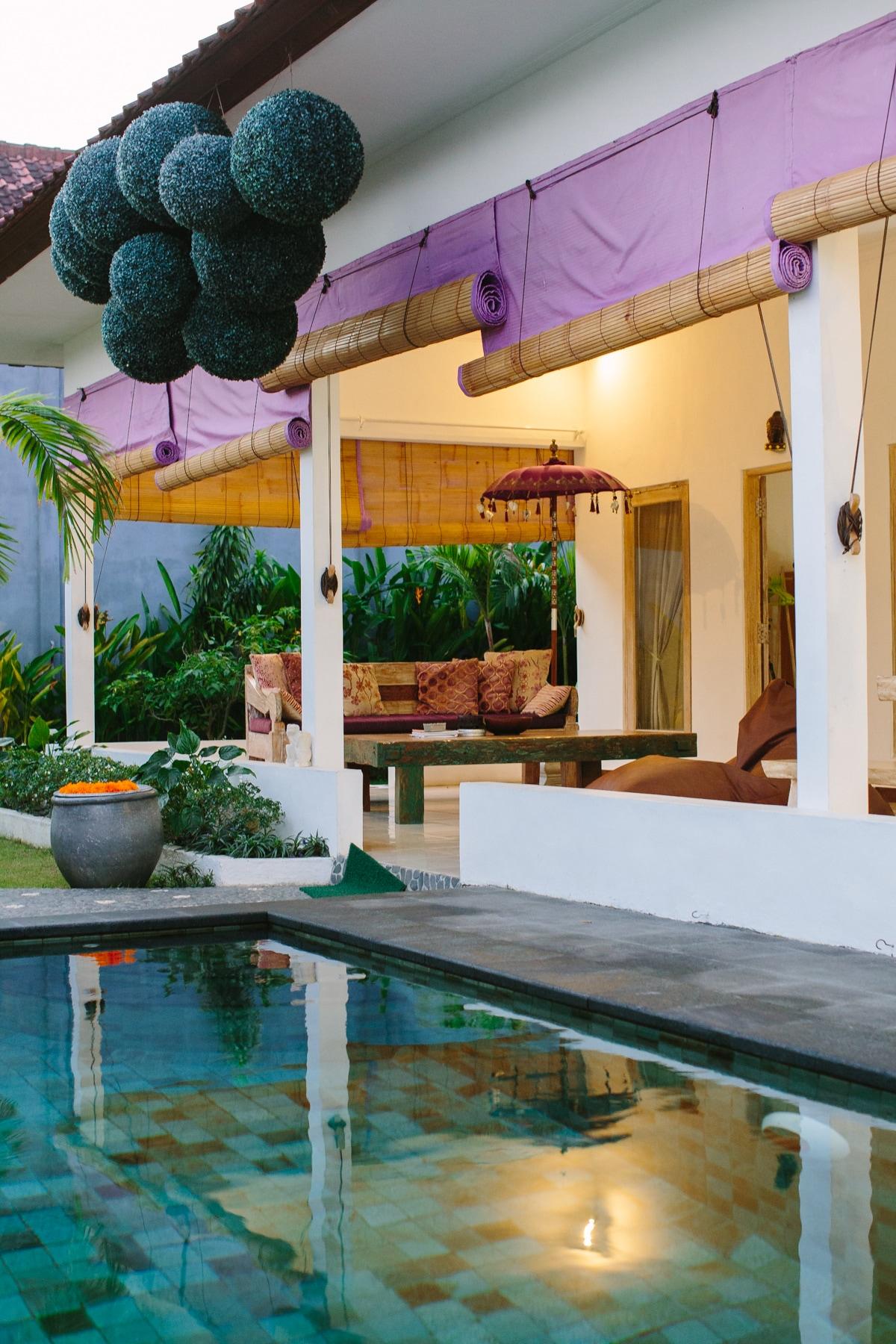 Zen attitude and quiet villa