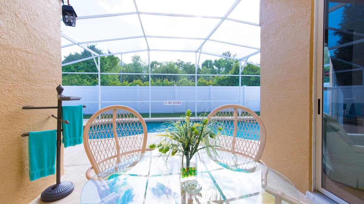 $109+ for 6, private pool by Disney