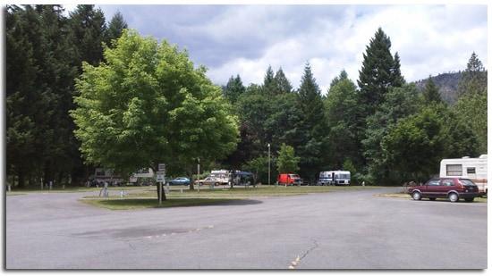 RV & Camp Site. Day, Week, Month
