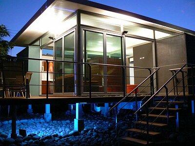 Lofts at night