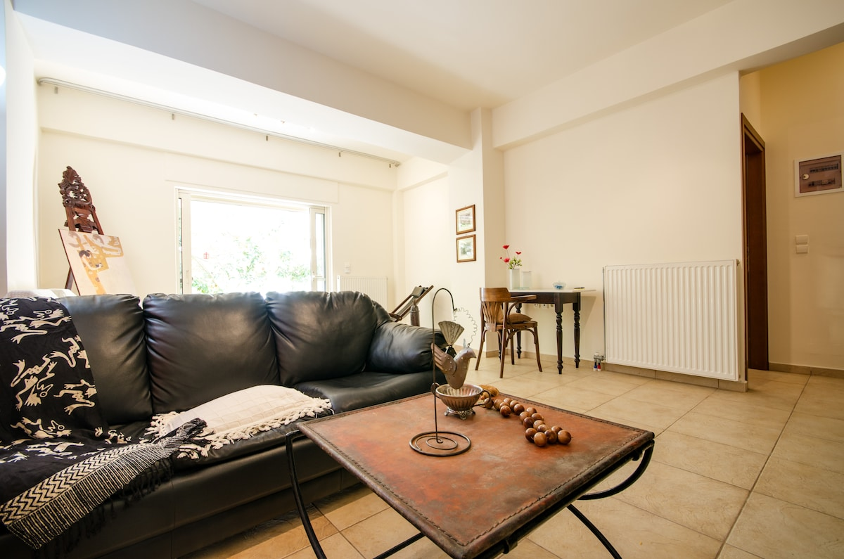 Flat with yard in historical centre