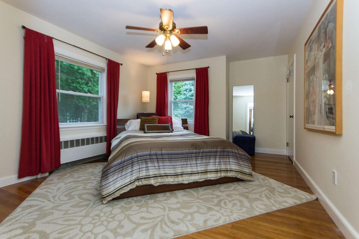 Spacious 2nd bedroom.