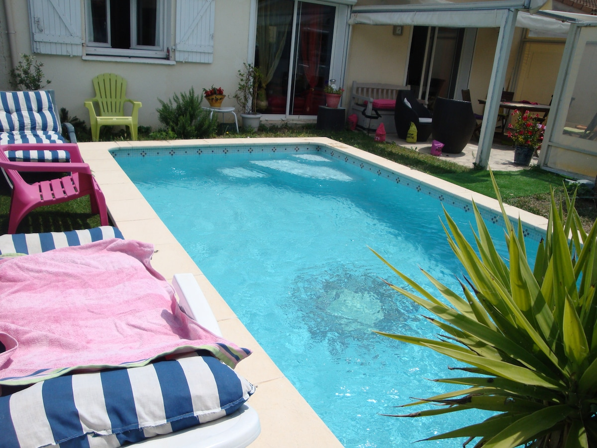 Villa T3 avec Sa Piscine Privative