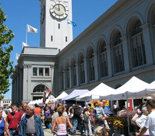 San Francisco Ferry Building Farmer's Market - delicious for breakfast, lunch or dinner, too!