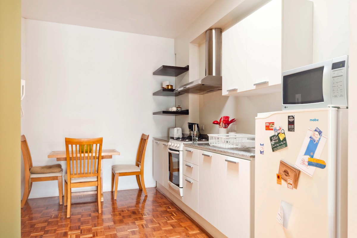 Enjoy our equipped kitchen!