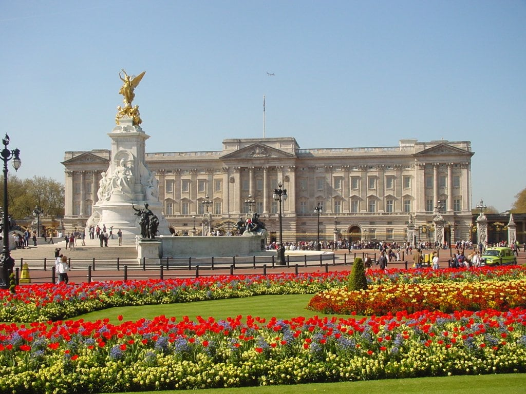 Buckingham Palace is about 15min walk through St James Park -- perfect for families with young children to run around.
