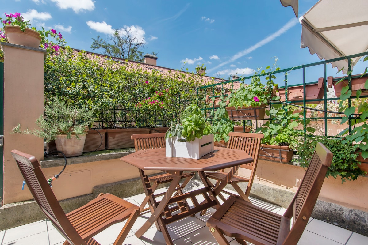 A lovely loft in the center of Rome