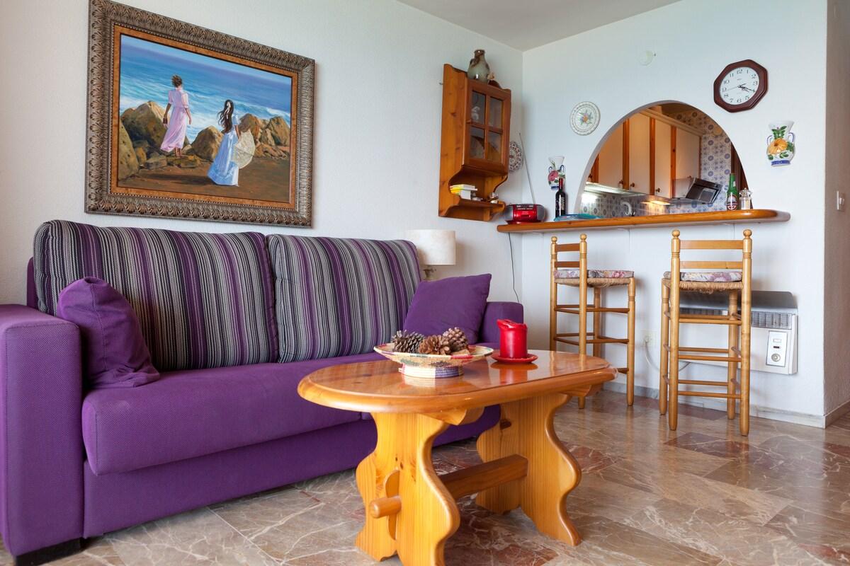 Flat, 2 bedrooms, scenic view