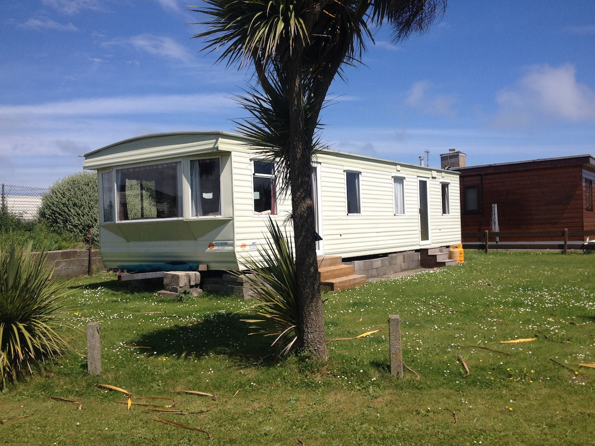 LargCaravan near Beach, Rush,Dublin