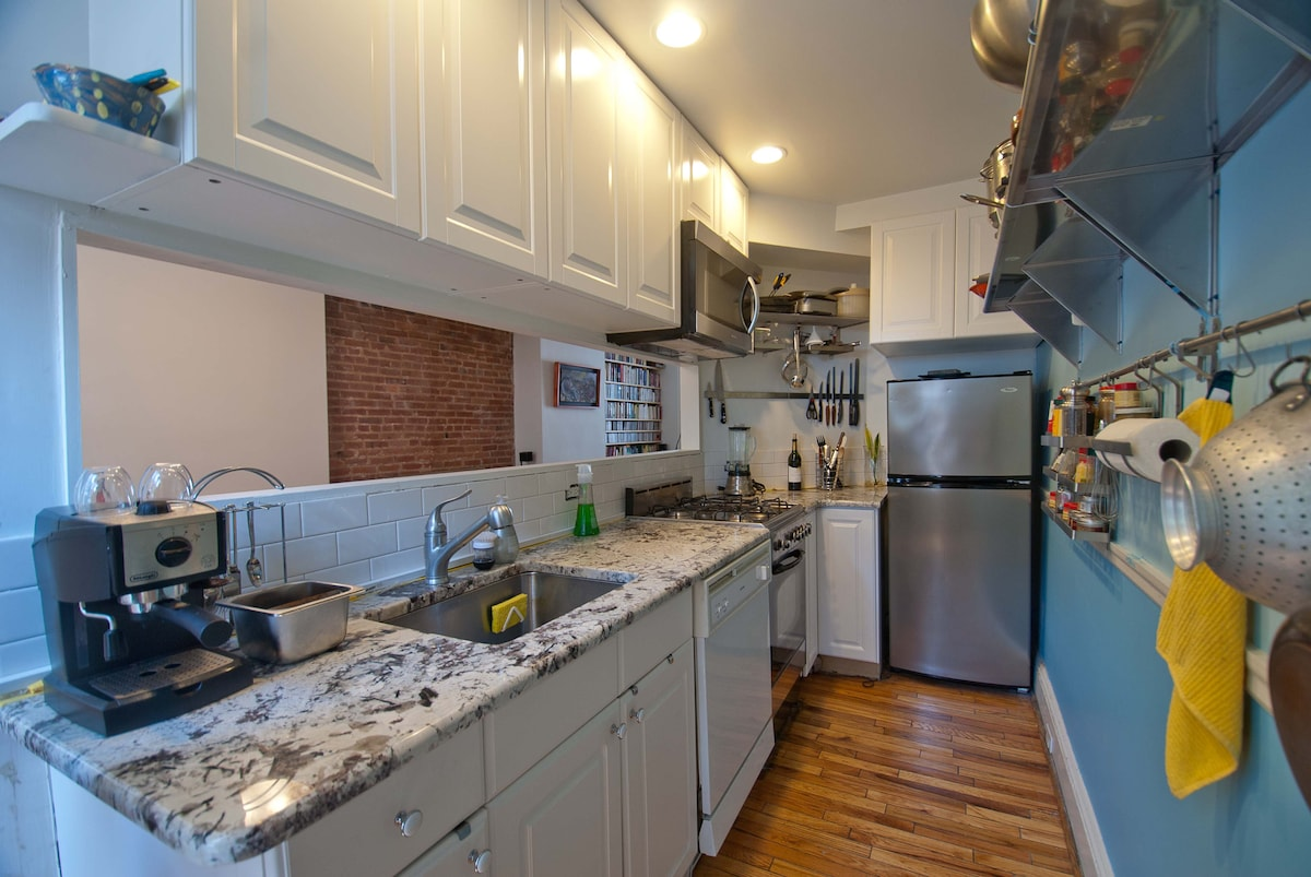 Newly renovated kitchen with everything at a chef's fingertips!