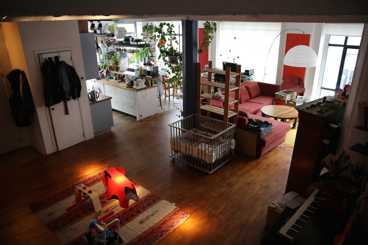 Loft in an old Chocolate Factory