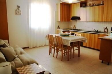 Living room + Kitchen Apt 1