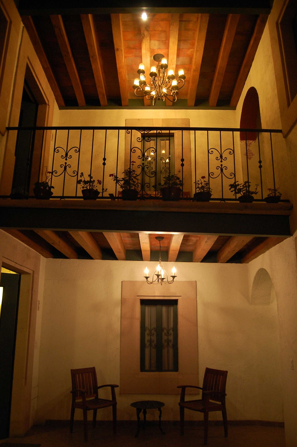 Apartment within colonial Morelia